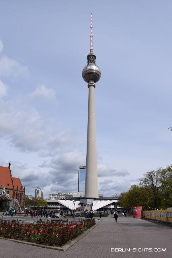Berliner Fernsehturm, TV-Tower, Berlin, Sights, Sehenswürdigkeiten