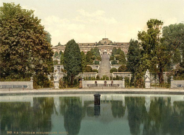 Schloss Sanssouci, Sanssouci Palace, Potsdam, Sanssouci