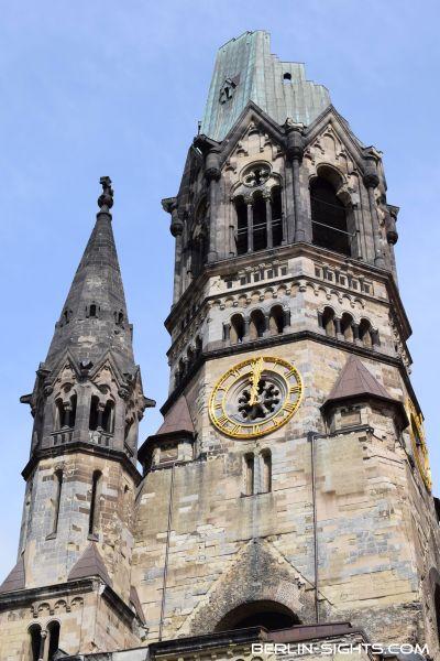 Kaiser-Wilhelm-Gedächtniskirche, Berlin, Kirche, Sights, Sehenswürdigkeiten