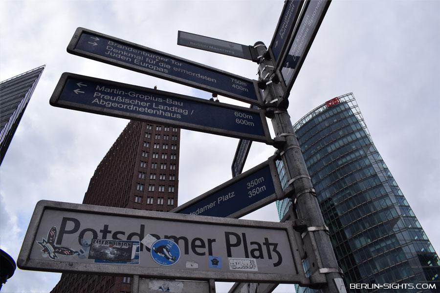 Berlin, Sights, Sehenswürdigkeiten, Potsdamer Platz
