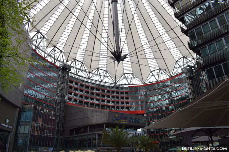 Berlin, Sights, Sehenswürdigkeiten, Sony Center
