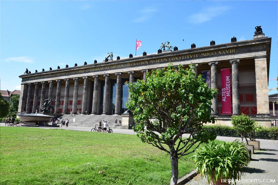 Altes Museum, Museumsinsel, Berlin