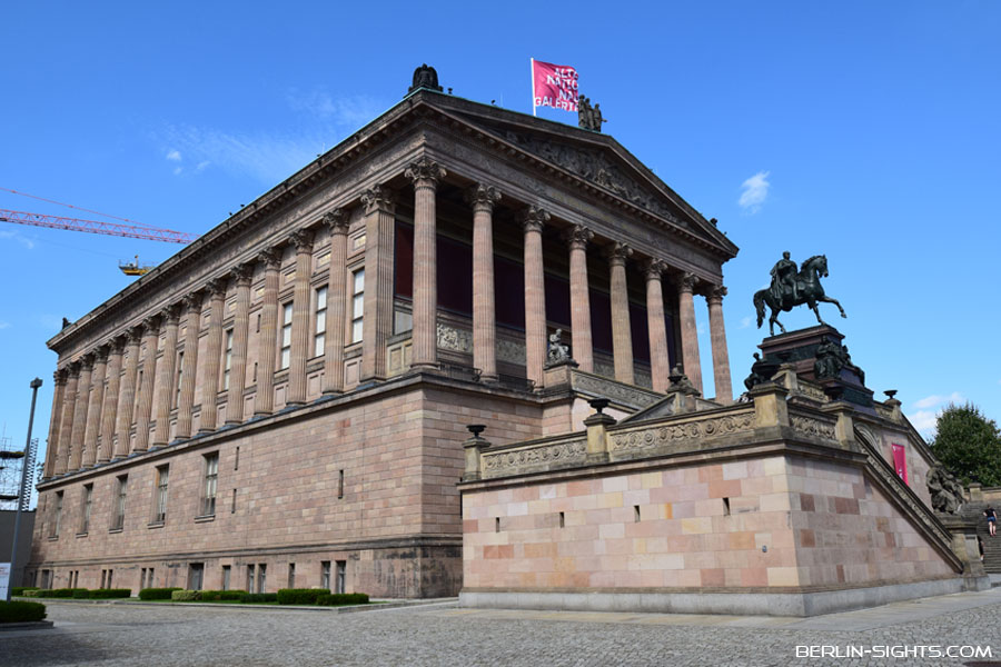Museumsinsel, Berlin, Alte Nationalgalerie, Old National Gallery